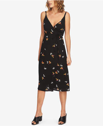 1 STATE 1.state Floral-Print Wrap Dress
