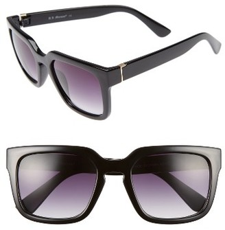 Women's A.j. Morgan Active 50Mm Sunglasses - Black $24 thestylecure.com