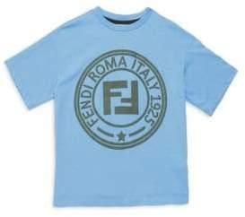Fendi Toddler, Little Boy's& Boy's Logo Short Sleeve T-Shirt