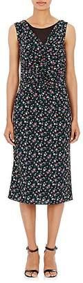 Nina Ricci WOMEN'S CHIFFON-LAYERED FLORAL-PRINT DRESS