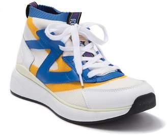 Roberto Cavalli Patterned Sock Sneaker