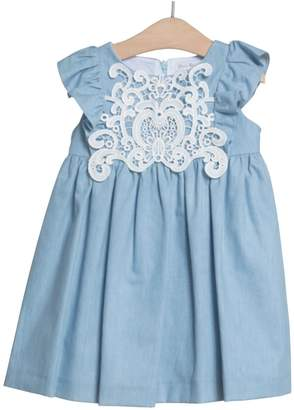 Fina Ejerique Denim Lace Dress