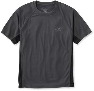 L.L. Bean L.L.Bean Ridge Runner T-Shirt, Short-Sleeve Colorblock