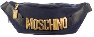 Moschino Logo Waist Bag $325 thestylecure.com