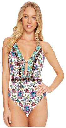 Nanette Lepore Rosarito Goddess One-Piece Women's Swimsuits One Piece