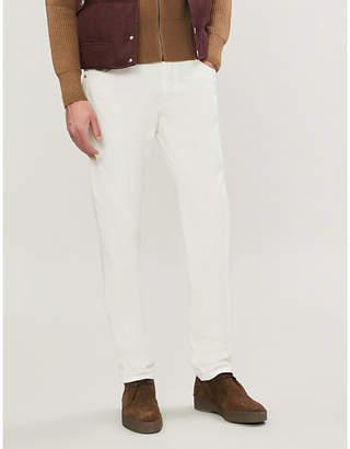 Brunello Cucinelli Slim-fit straight jeans