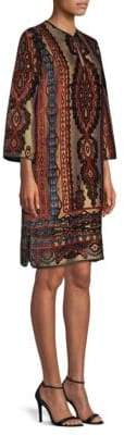 Etro Paisley Velvet Tunic Dress