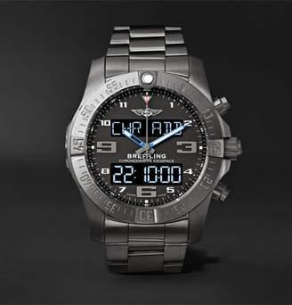 Breitling Exospace B55 Superquartz 46mm Titanium Watch
