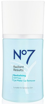 No7 Radiant Results Revitalizing Oil Free Eye Makeup Remover