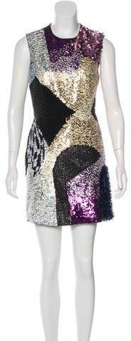 3.1 Phillip Lim3.1 Phillip Lim Wool Embellished Dress