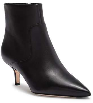 Via Spiga Maggie Leather Pointed Toe Bootie