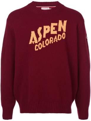 Moncler Aspen Colorado jumper