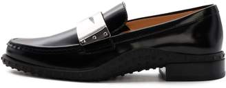 Tod's Tods Moccasin Black Leather