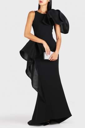 Maticevski Nocturnal One Shoulder Dress
