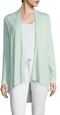 Eileen Fisher Hi-Lo Open Front Cardigan