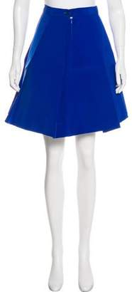Jacquemus Pleated Knee-Length Skirt