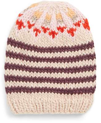 Free People Tullamore Stripe Knit Beanie