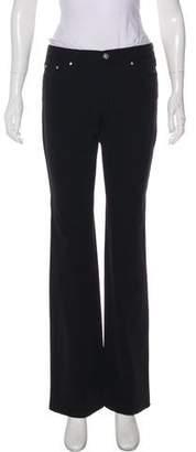 Versace Mid-Rise Wide-Leg Pants
