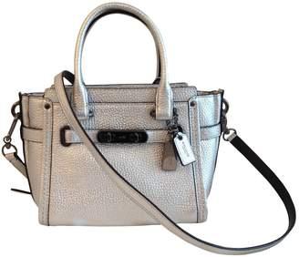 Coach Leather Crossbody Bag