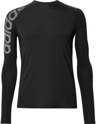 adidas Sport - Alphaskin Badge of Sport Climacool and Mesh Compression T-Shirt - Men - Black