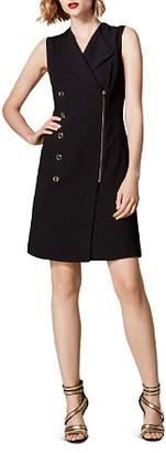 Karen Millen Zip-Front Blazer Dress