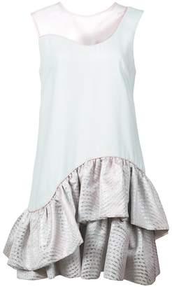 Nha Khanh ruffled skirt dress