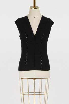 Farah Molli sleeveless top