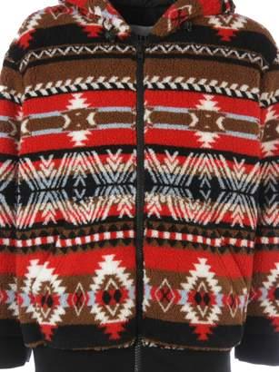 MSGM Folk Pattern Hoodie