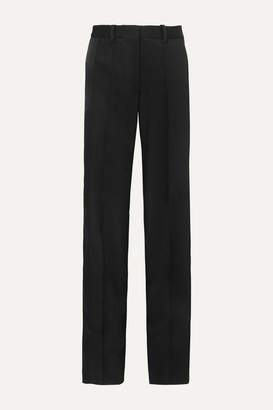 Peter Do - Twill Straight-leg Pants - Black