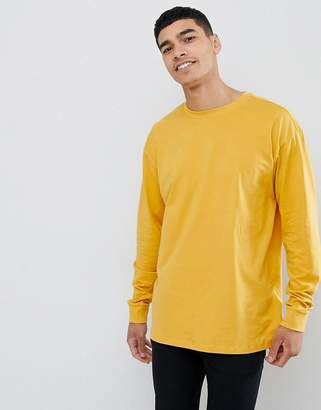 New Look long sleeve t-shirt in yellow