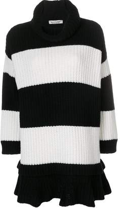 Valentino striped knit dress