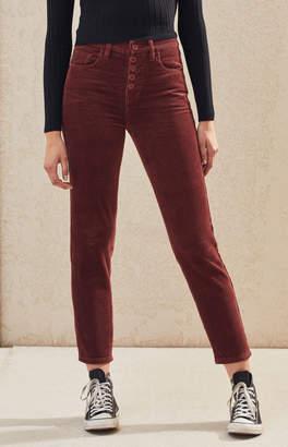 PacSun Brick Dust Corduroy Vintage Icon Mom Jeans