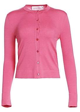 Carolina Herrera Women's Cashmere& Silk Knit Cardigan