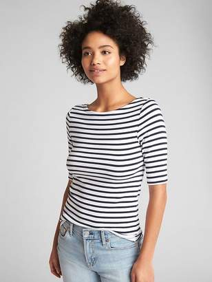 Gap Modern Stripe Ballet-Back T-Shirt