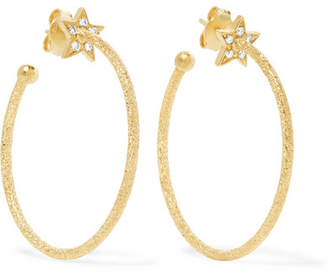 Carolina Bucci Woman 18-karat Gold And Cord Tasseled Earrings Red Size ONESIZE Carolina Bucci 7Oa7h