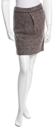 By Malene Birger Wool Tweed Skirt