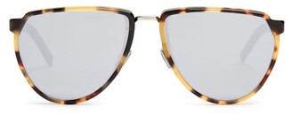 Christian Dior Sunglasses - D Frame Acetate Sunglasses - Mens - Brown