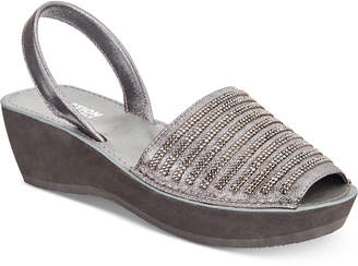 Kenneth Cole Reaction Women's Fine Stripe Wedge Sandals Women's Shoes