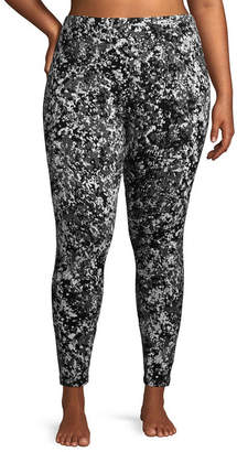 Flirtitude Printed Leggings - Juniors Plus