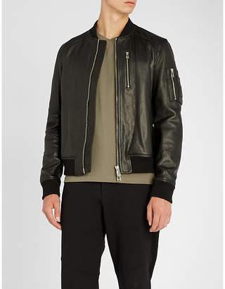 Belstaff Clenshaw nappa leather bomber jacket