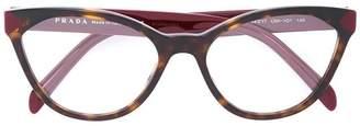 Prada cat-eye glasses