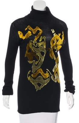 Ann Demeulemeester Knit Turtleneck Sweater