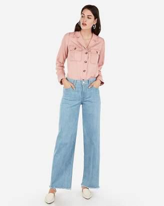 ab4449dfe2c5 Express Pink Women's Longsleeve Tops - ShopStyle