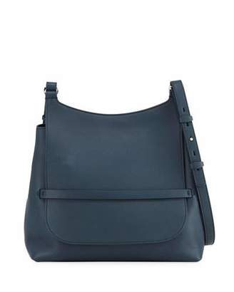 The Row Sideby Smooth Calf Leather Crossbody Bag