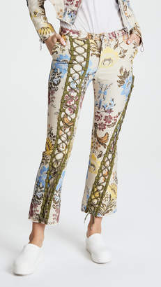 Marques Almeida Lace Up Trousers