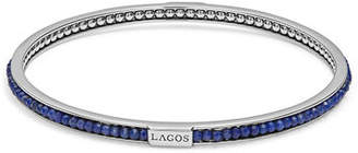 Lagos Caviar Icon Beaded Stone Bangle Bracelet