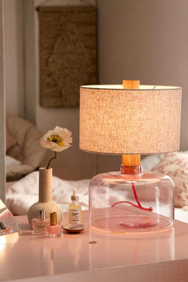 Mila Tinted Glass Table Lamp