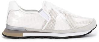 Miharayasuhiro layered mesh sneakers