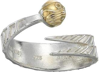 Alex and Ani Harry Potter Golden Snitch Two-Tone Ring Wrap Ring