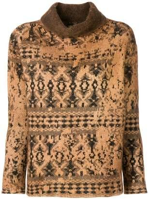 Avant Toi high neck knit sweater